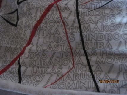 FOTKA - Olympijský šátek se jménem
