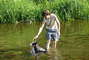 koupeme se v řece