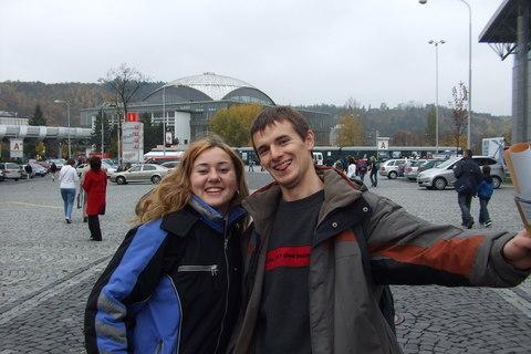 FOTKA - Lubka a Alexej (poprvé v Brně)