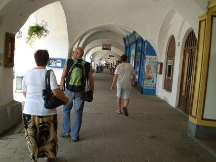FOTKA - Podloubí litomyšlského náměstí