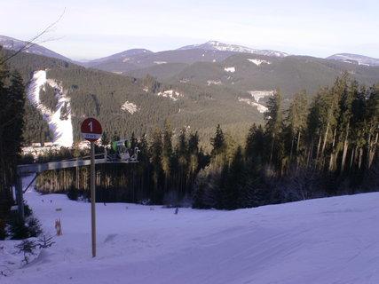 FOTKA - Sjezdovka č.1 na ski Bílá