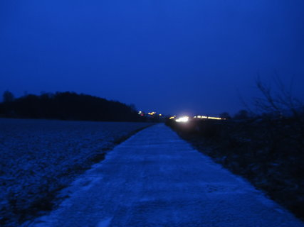 FOTKA - večerní návrat