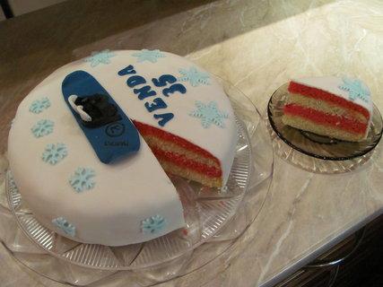 FOTKA - punčový dort