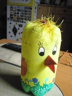 FOTKA - kuře z petlahve