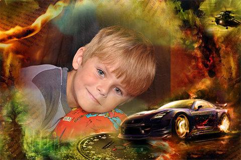 FOTKA - tomik s autem