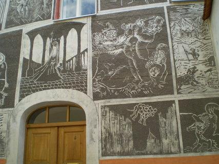FOTKA - Litomyšl malovaná zeď