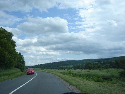 FOTKA - cesta do Luhačovic........