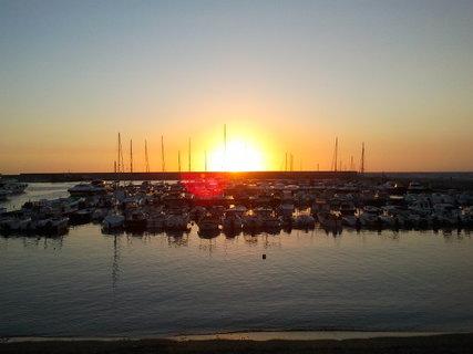 FOTKA - slunce za stozary plachetnicek