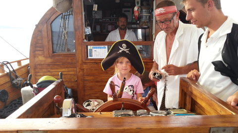 FOTKA - Malá pirátka