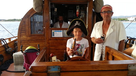 FOTKA - Starší pirátka