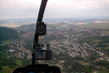 Boskovice z vrtulniku,hodne vysoko