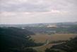 pohled z vrtulniku kolem Boskovic