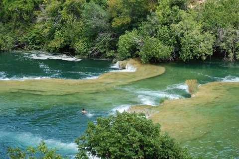 FOTKA - laguny vodopádů Krka
