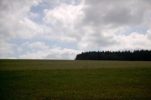 FOTKA - panorama Velenov z vrtulniku