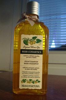 FOTKA - Pivní šampon - výhra z FB