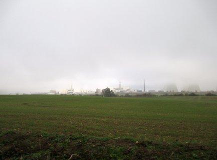 FOTKA - atomka v ranní mlze