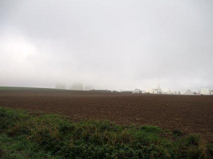 FOTKA - atomka v ranní mlze 2