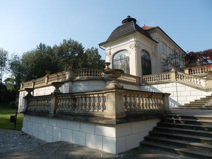 FOTKA - barokní schodiště Ptačí schody u zámku v Teplicích