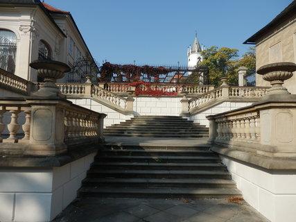 FOTKA - barokní schodiště Ptačí schody / v Teplicích