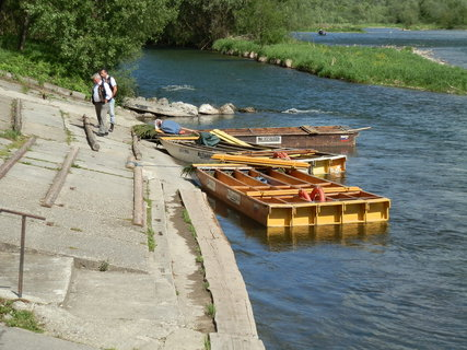 FOTKA - plte a pltníci na Dunajci
