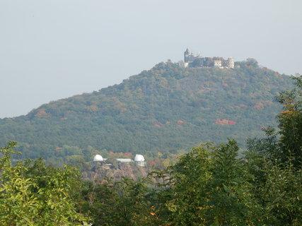 FOTKA - Doubravská hora a vlevo dole hvězdárna - Teplice