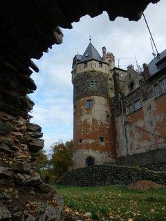 FOTKA - romantická podoba hradu Doubravka (Teplice)