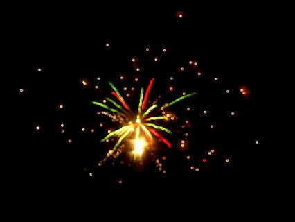 FOTKA - silvestrovský ohňostroj,