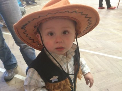 FOTKA - Vnouček na karnevalu