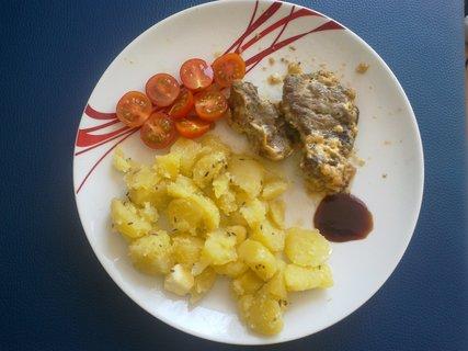 FOTKA - Vepřové maso na smetaně