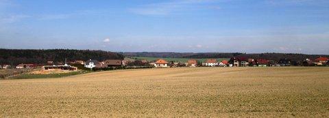 FOTKA - jeden z pohledů na vesnici