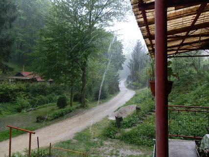 FOTKA - Dnešná búrka na chate