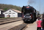 parní vlak-výlet