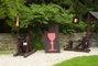 Areál historické zábavy v podhradí Bouzova