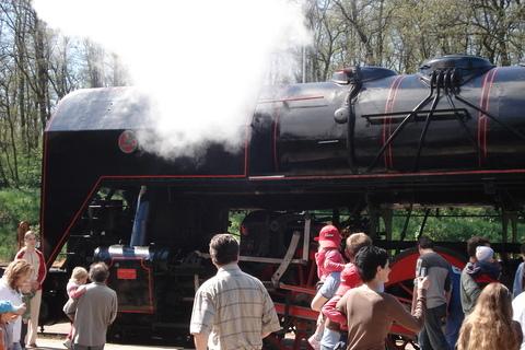 FOTKA - parní vlak