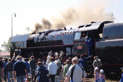 FOTKA - parní vlak - výlet