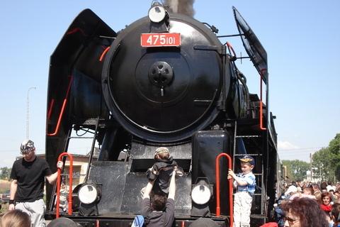 FOTKA - parní vlak-výlet