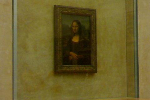 FOTKA - Mona Lisa v LOUVRU