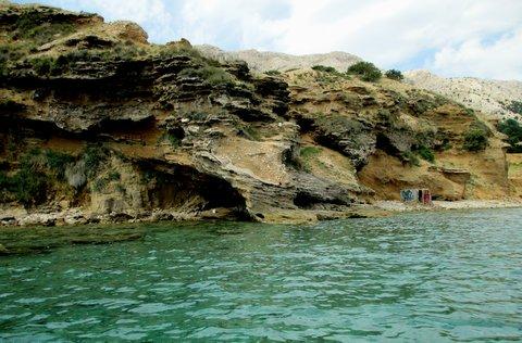 FOTKA - skály na pobřeží