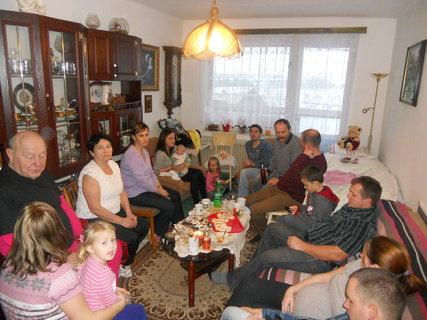 FOTKA - O Vánocích 2014 skoro všichni pohromadě
