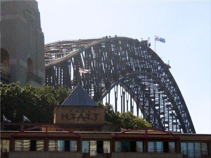 FOTKA - Pohled na Harbour Bridge v Sydney