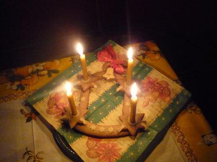 FOTKA - Rozsvícený svícen