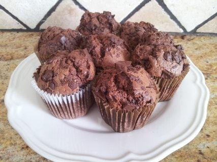 FOTKA - čokoládové muffinky