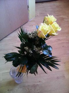 FOTKA - žluté růže,