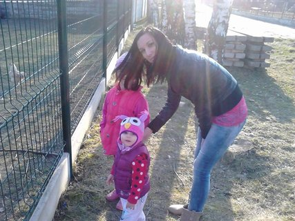 FOTKA - mamina+holky na procházce