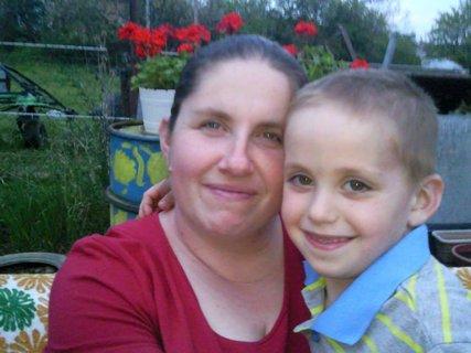 FOTKA - Samko s maminkou
