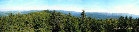 FOTKA - Panorama od Žalýho