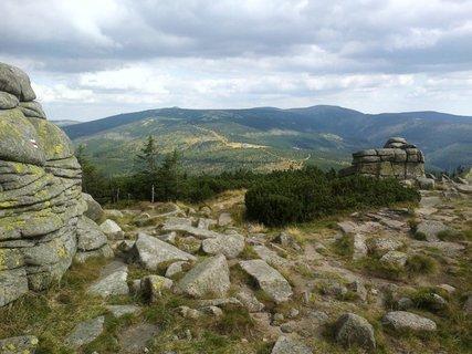 FOTKA - Pohled od Ženských kamenů