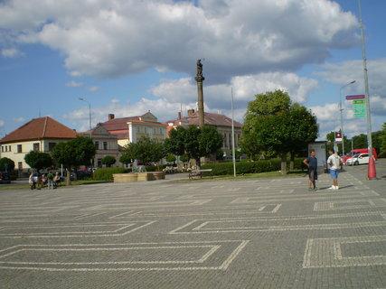 FOTKA - V Opočně na náměstí