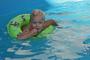 Ella v bazenu