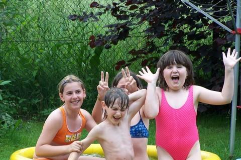 FOTKA - v bazéně
